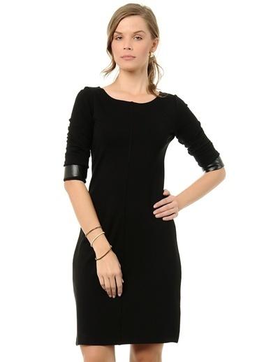 Asymmetry Truvakar Kol Dar Elbise Siyah